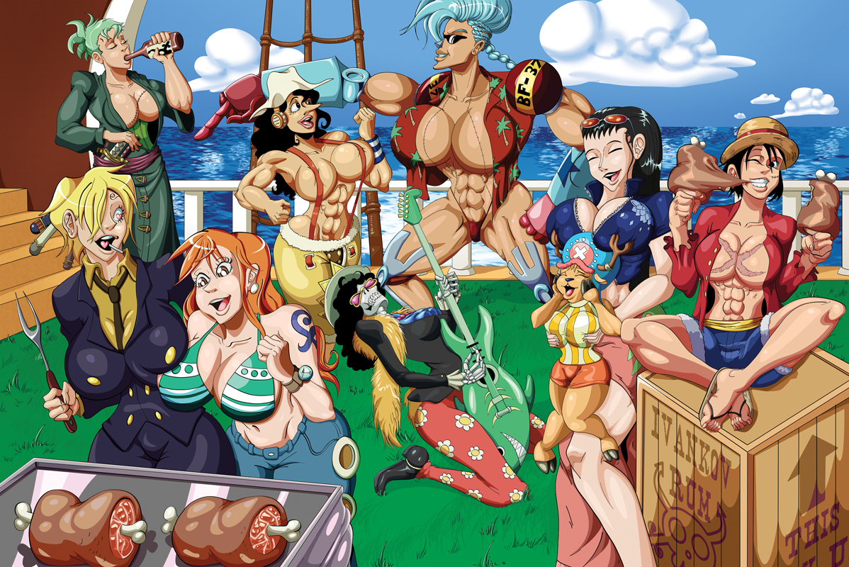 Bonus: One Piece Pinup